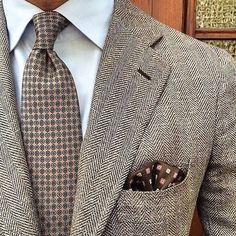 tweed ...repinned vom GentlemanClub viele tolle Pins rund um das Thema Menswear- schauen Sie auch mal im Blog vorbei www.thegentemanclub.de