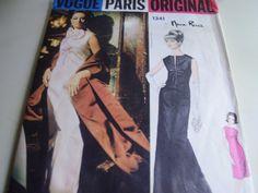Vintage 1960's Vogue 1341 Nina Ricci Evening Dress by TheLastPixie