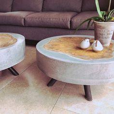 # concrete furniture # furniture # concrete # design # decor # home - All Ideas Concrete Furniture, Concrete Table, Concrete Wood, Concrete Design, Furniture Projects, Cool Furniture, Furniture Design, Office Furniture, Kitchen Furniture