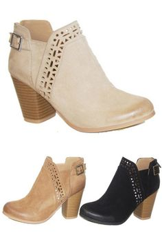 These super cute tribal eyelet print booties are comfortable and are perfect to pair with all of your favorite peasant dresses, plus so much more! Features side buckle and back zipper closure. Ankle Booties, Bootie Boots, Bohemian Shoes, Sexy Boots, Pretty Shoes, Peasant Dresses, Me Too Shoes, Heeled Boots, Fashion Shoes