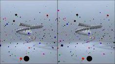 Quero ver quem consegue! 3D without glasses, Cross-Eye HD, via YouTube.