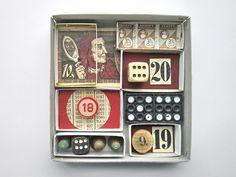 mano kellner, art box 258, zahlenspielerei - sold -