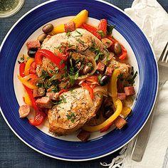 Mediterranean Diet Slow-Cooker Recipe: Braised Basque Chicken