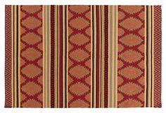 Hades Flat-Weave Rug, Redwood on OneKingsLane.com
