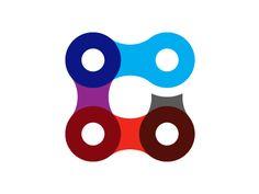"Quick logo sketch for ""The Grey"" cycling club. Inspiration Boards, Logo Inspiration, Design Kaos, Ux Design, Three Logo, Logo Sketches, Bike Logo, Bicycle Art, Cycling"