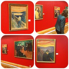 Classics at the Munch museum (photos: Adeline Cuvelier)