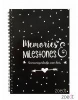 Zoedt Herinneringsboekje - Memories en Milestones - Kind