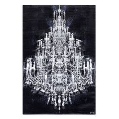 Shop for Oliver Gal 'Montecarlo Crystal' Fashion and Glam Wall Art Canvas Print - White, Black. Get free delivery On EVERYTHING* Overstock - Your Online Art Gallery Store! Get in rewards with Club O! Oliver Gal, Canvas Wall Art, Wall Art Prints, Diamond Wall, Affordable Modern Furniture, Crystal Fashion, Art Themes, Home Decor Store, Types Of Art