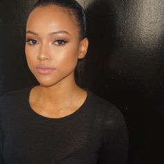 karrueche Tran..... Natural makeup