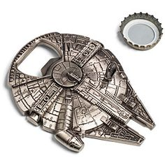 Star Wars Millennium Falcon Bottle Opener http://rstyle.me/n/dg824nyg6