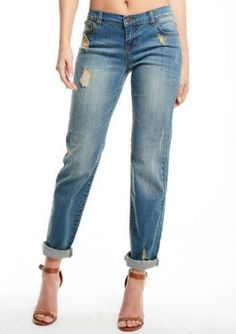 Revolt Relaxed Straight Leg Tall Jean