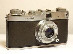 Rare Meopta OPEMA II rangefinder camera 24x32mm Belar 1:2,8 45mm lens Leica copy