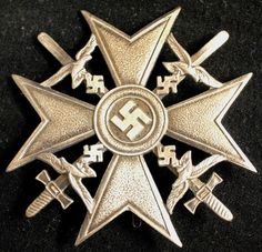 Nazi WWII Spanish Cross