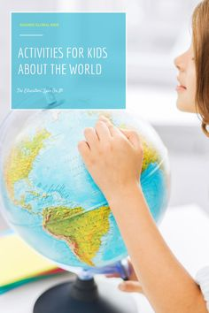 Activities for kids about the world. A fun way to explore this summer from the comfort of your home, library and kitchen!