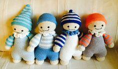 Haken toy - Crochet - Amigurumi Baby  Bebes,  basados el patrón de Mari-Liis Lille (lilleliis), https://www.etsy.com/shop/lilleliis?ref=l2-shop-header-avatar