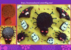 gâteaux que j'ai préparé pour notre goûter d'halloween