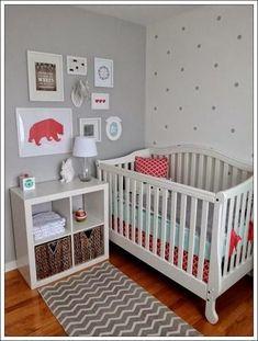 Cómo decorar la habitación del bebé. Paredes