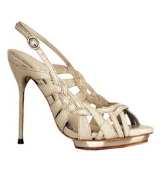 Ivory Paloma Prism Heels