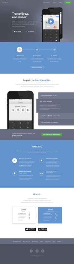 flat design web