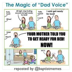For you #parents out there (So I won't be accused of neglecting a huge part of my audience or something.) -@gmx0 #BaptistMemes