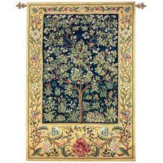 Manual Woodworkers & Weavers Garden of Delight Tapestry   Wayfair