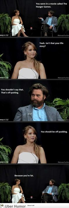 I love Jennifer Lawrence! Such a natural haha