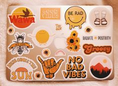 Vsco - sophiehutch aesthetic stickers, stickers on laptop, mac laptop stickers, macbooks, Mac Laptop Stickers, Cute Stickers, Red Bubble Stickers, Vsco, Image Tumblr, Mac Book, Accessoires Iphone, Aesthetic Stickers, Mellow Yellow