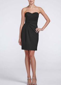 Strapless Satin Short Dress with Pleating Black David's Bridal,http://www.amazon.com/dp/B00DW6AFUO/ref=cm_sw_r_pi_dp_VPS1sb10V30DWNKF