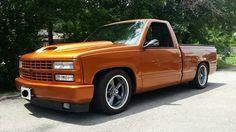Orange Chevy Truck