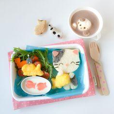 Kitty Cat Bento (5)