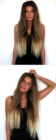 i want this hair, but a lot a lot shorter