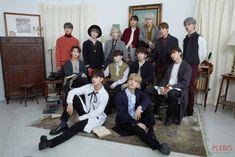 [BY 플레디스엔터테인먼트] 세븐틴 박물관에 오신 구독자분들을 환영합니다  플레디스 포스트 지기인사... Pledis Seventeen, Jeonghan Seventeen, Seventeen Album, Seventeen Leader, Woozi, Mingyu, K Pop, Vernon Chwe, Seventeen Performance Team