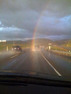 Strike by rainbow??