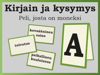 Discover recipes, home ideas, style inspiration and other ideas to try. Learning The Alphabet, Alphabet Activities, Preschool Activities, Finnish Language, Team Building Exercises, Brain Teasers, Early Childhood Education, Social Skills, Pre School