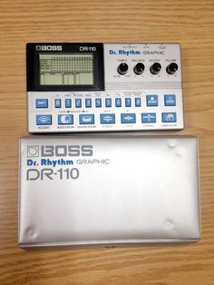 MATRIXSYNTH: BOSS DR-110 Analogue Drum Machine Synthesizer