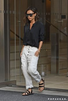 "Victoria Beckham's Fashion Week Pants Say, ""This Is Not My First Rodeo"""