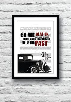 The Great Gatsby Movie Poster Great Gatsby by Redpostbox on Etsy, £8.00