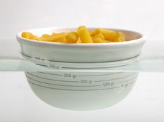 A bowl that floats in water so you can weigh your food directly from the bowl!! I need this! #kitchen #boyl