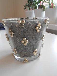#DIY glass #planter #succulent