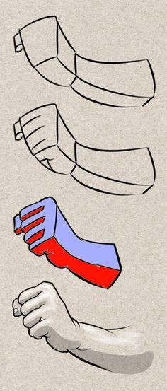 dessin-main-fermée