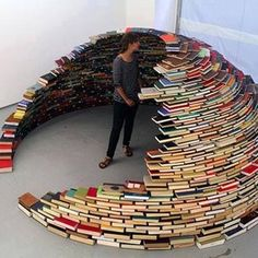 Because building a book fort beats building a snow fort. | 28 Reasons You Should Stay Inside And Read A Book