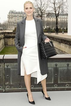 The best of front row at Paris fashion week: Mélanie Laurent outside Chanel A/W 2013.