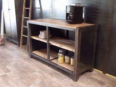 Buffets et bahuts en bois / metal de style industriel - Micheli Design