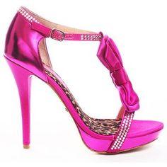pink barbie-ish high heels