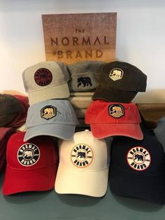 Lots of hats & more from The Normal Brand at Fun in the Sun shops!