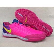 Chuteira Nike Tiempo Legend VII Homens Rosa Azul Amarelo 09ed6d84f096a
