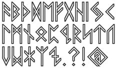 norse typography - Google Search