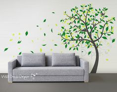 You can decorate with wall stickers!! I really hope I can do something with wall stickers in my next home! :)
