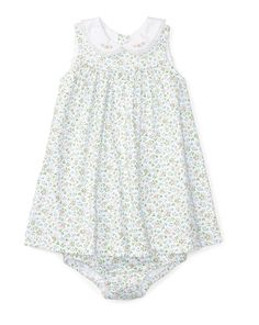 Pima Cotton Dress & Bloomer