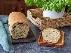 Celozrnný chléb s bylinkami a mozarellou   V kuchyni s Hankou